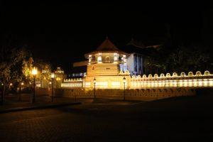 Der Zahntempel in Kandy