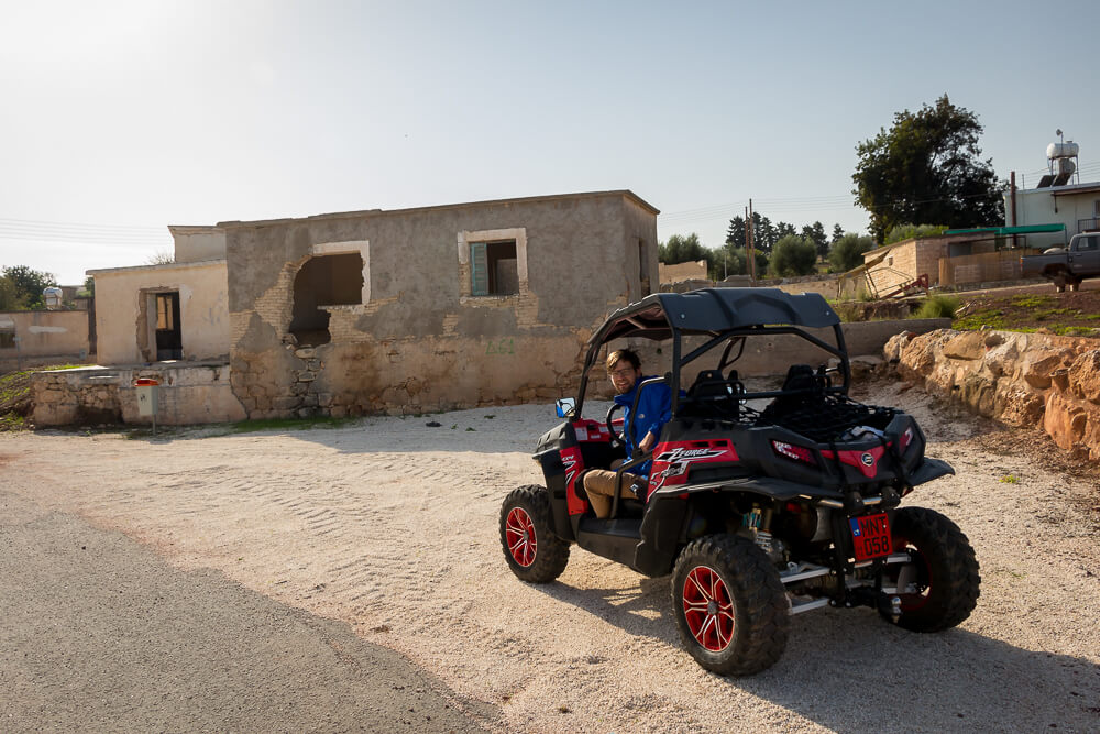 Zwischenstopp unserer Buggy-Tour in Androlikou