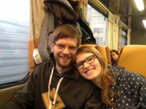 Unsere Bahnfahrt nach Prag