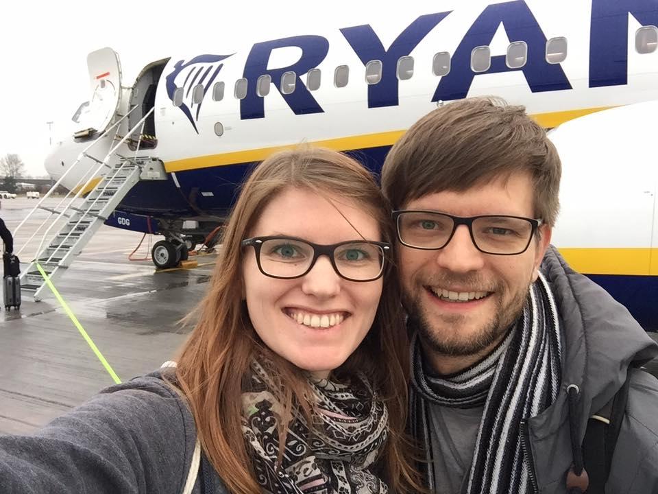 Anreise nach Riga per Ryanair-Flugzeug