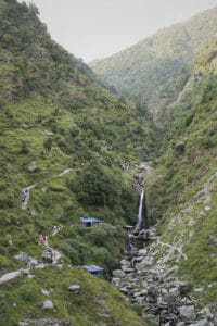 Bhagsu Wasserfall