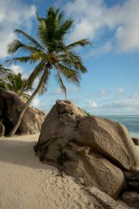 Der berühmte Strand Anse Source d'Argent auf den Seychellen