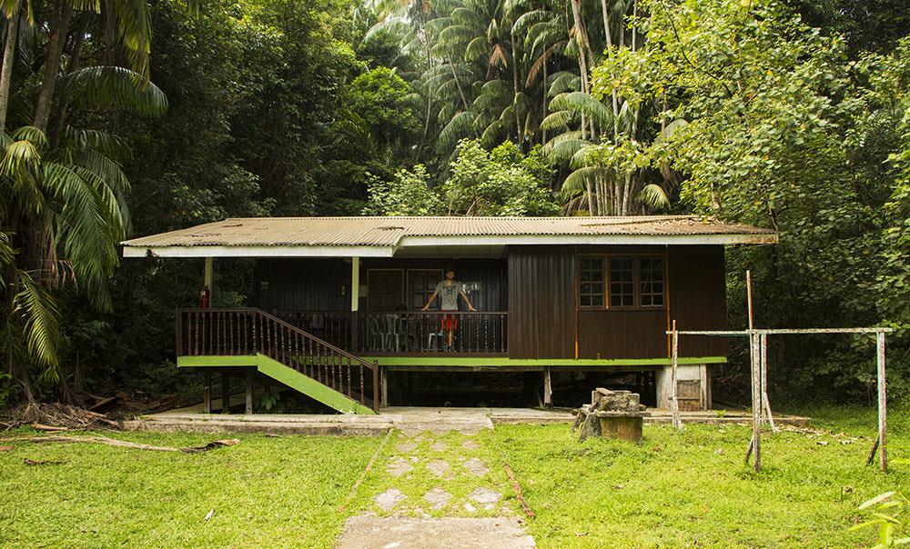 Borneo-Bako-Nationalpark-Unterkunft