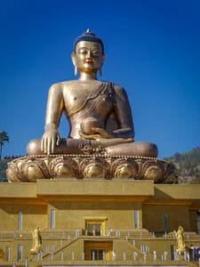 Buddha-Statue bei Thimphu