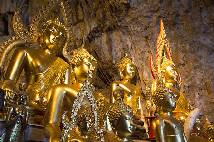 Buddha-Statuen-Wat-Tham-Pha-Plong-Chiang-Dao