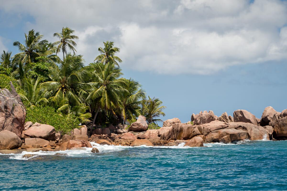 Coco Island ist nur mit einem Boot erreichbar