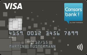 Consorsbank-VISA-Kreditkarte