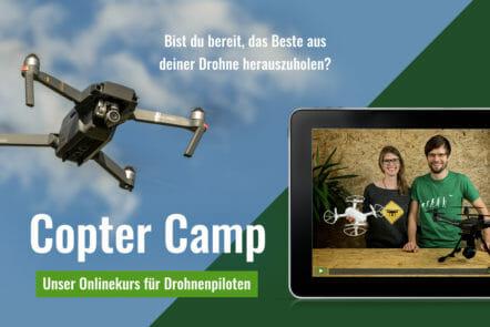 Copter Camp - der Onlinekurs für Drohnen-Piloten