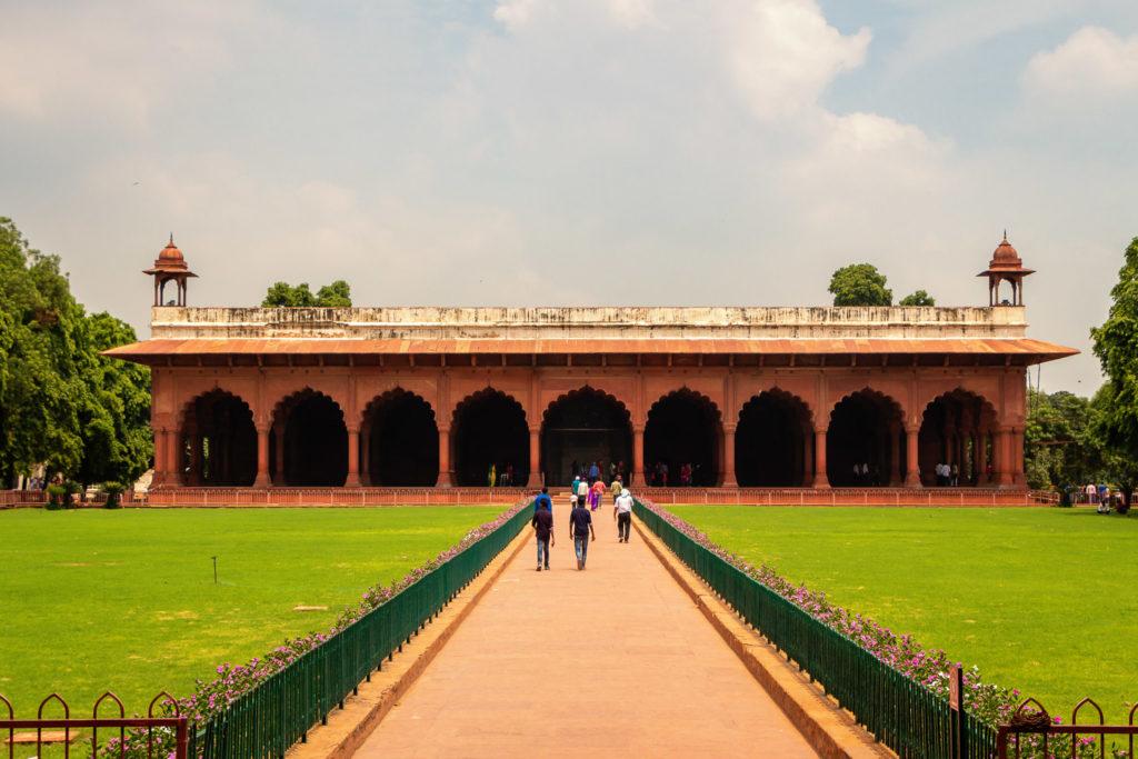 Diwan I Am im Roten Fort von Delhi