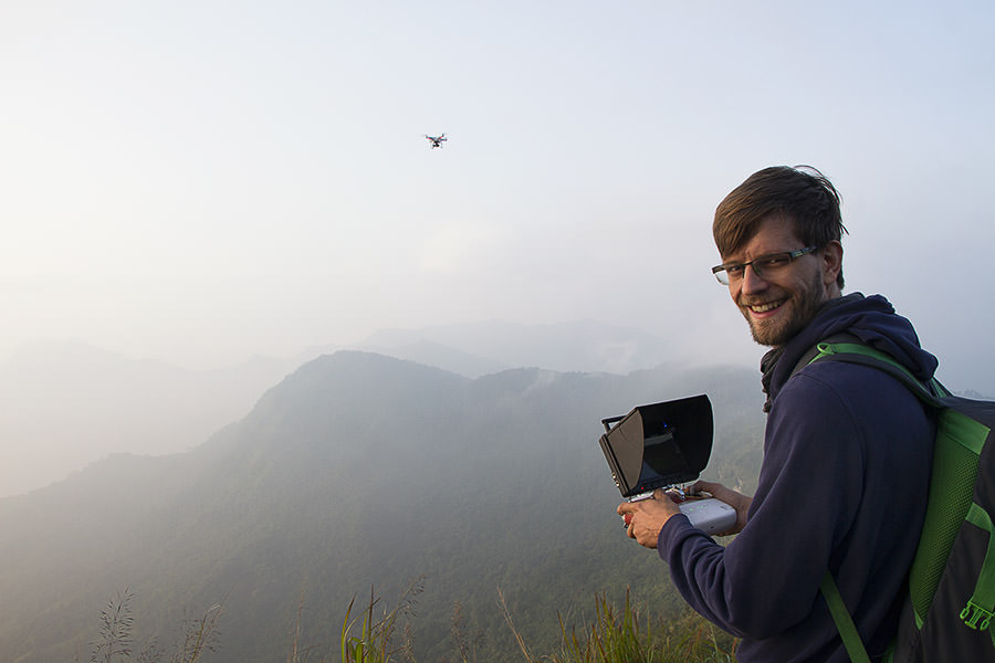 FPV-Drohne-Thailand