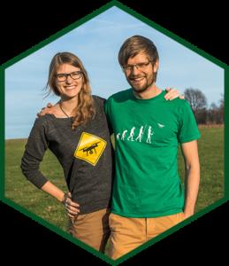 Bina und Francis - die Blogger von my-road.de