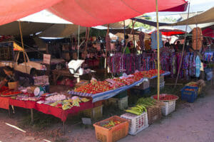 Hill-Tribe-Markt-Chiang-Dao-Thailand