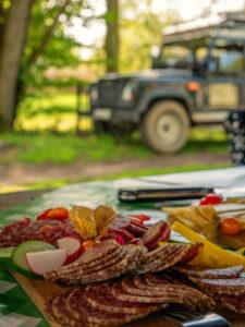 Mittagessen bei der Inselsafari