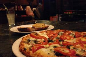 Pizza in Jimmy's Italian Kitchen