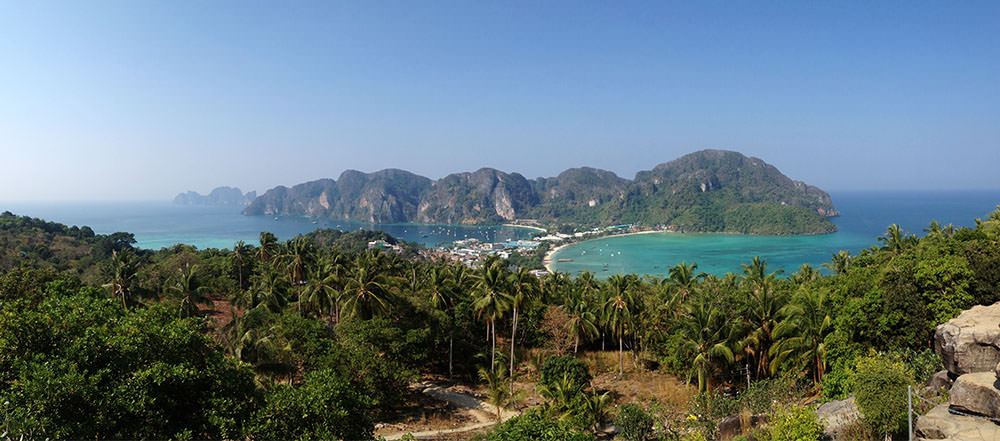 Koh Phi Phi Viewpoint Panorama