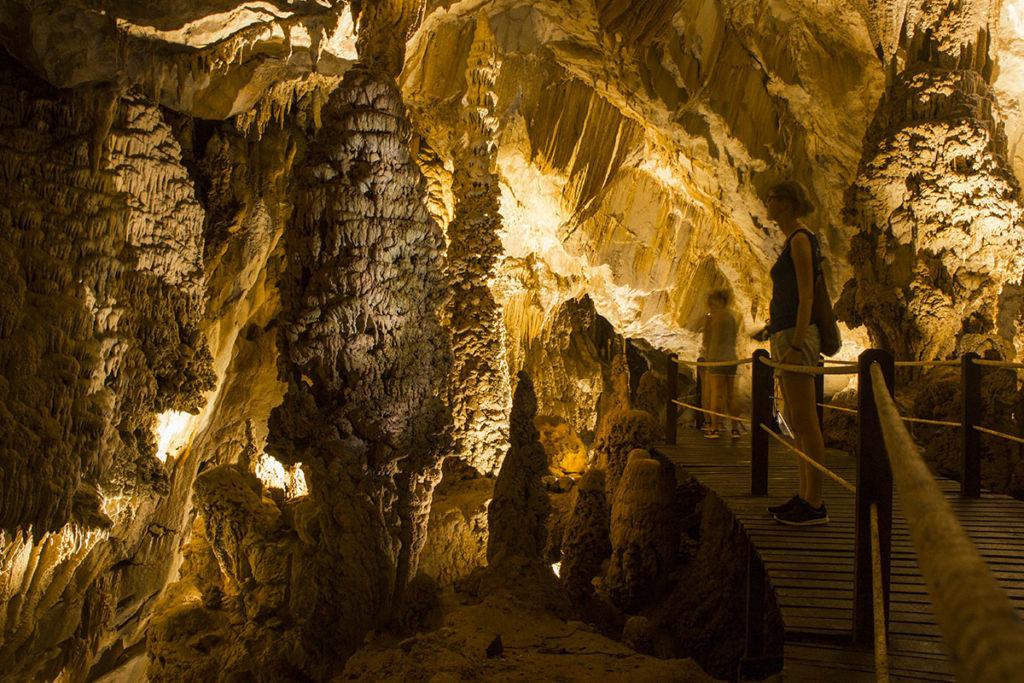 In der Höhle Lang Cave im Mulu Nationalpark auf Borneo