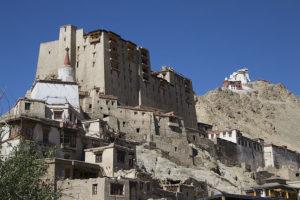 Der Palast-Komplex und das Tsempo-Kloster in Leh