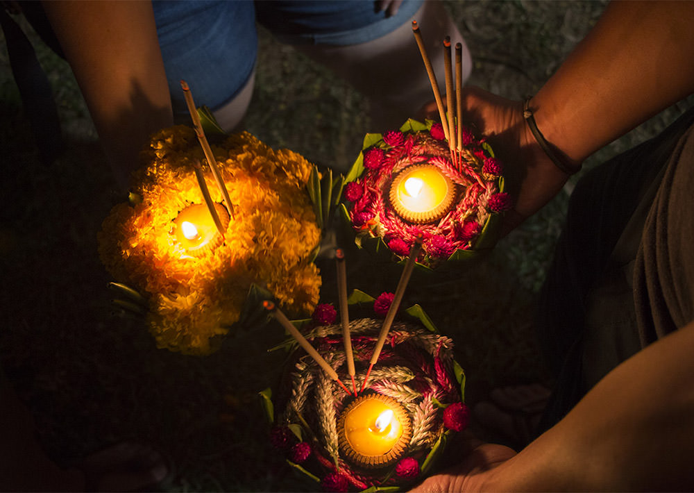 Loy Krathong Chiang Mai Thailand