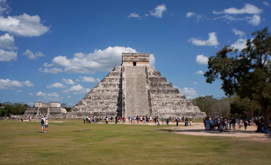 Ein Wahrzeichen Mexikos: Die Pyramiden von Chichen Itza