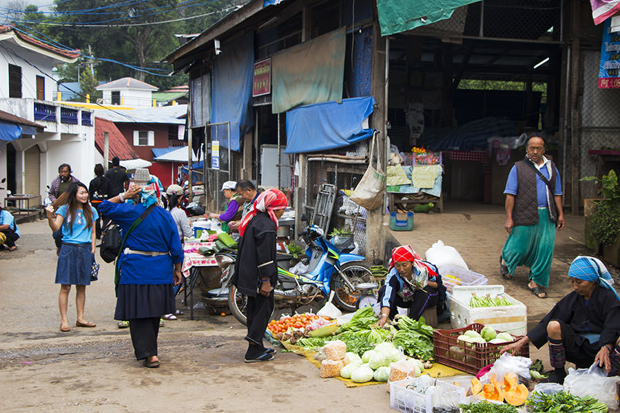 Morgen-Markt-Doi-Mae-Salong-Thailand