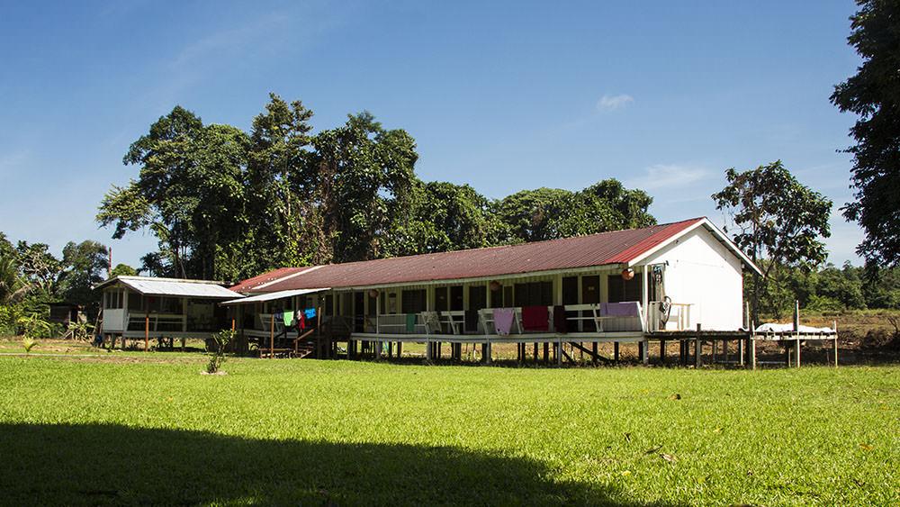 Unsere Unterkunft im Mulu Village