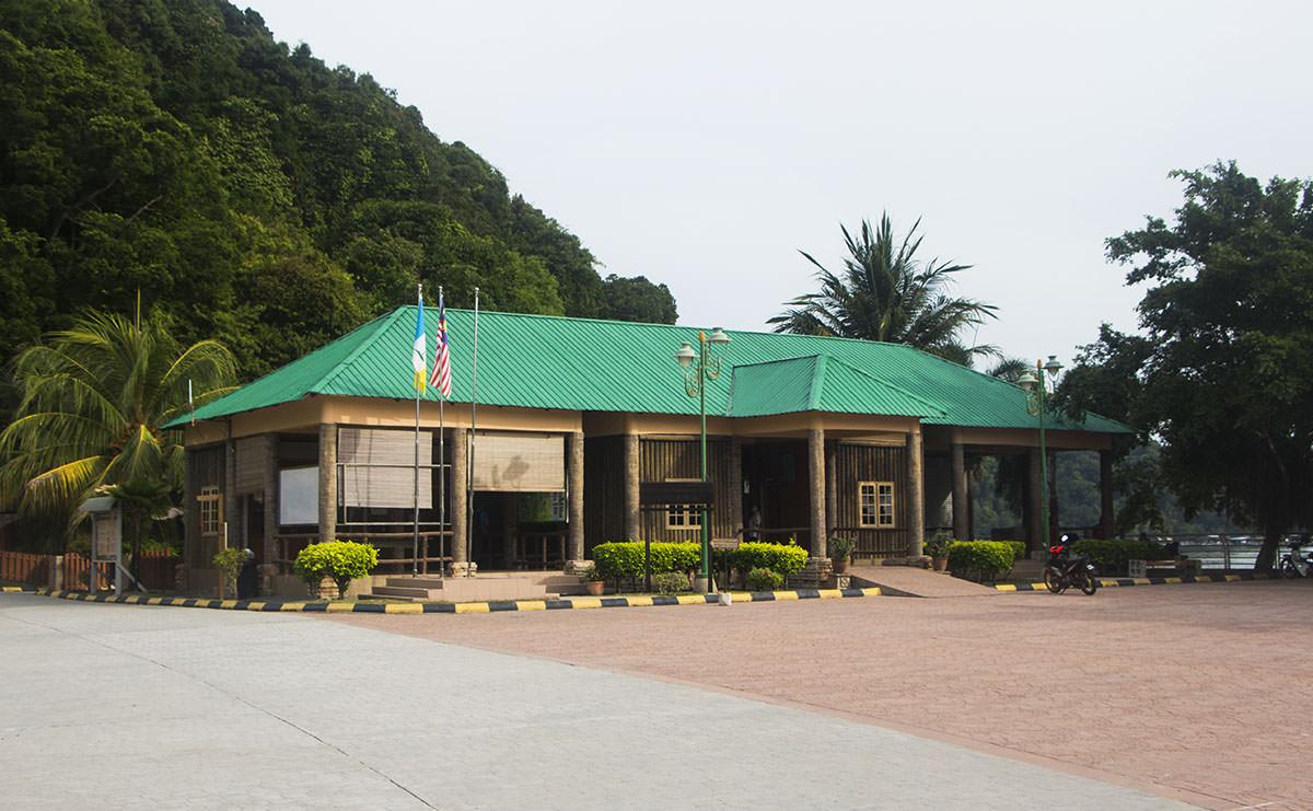 Eingang vom Nationalpark Penang