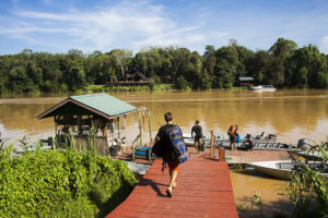 Nature-Lodge-Kinabatangan-Fluss-Abreise