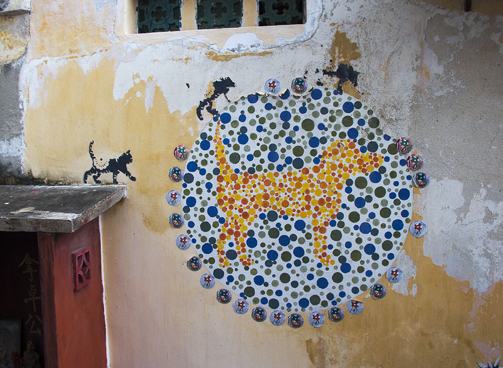 No Animal Discrimination Please - Street Art in Penang
