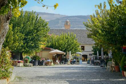 Dorf Omodos in Zypern