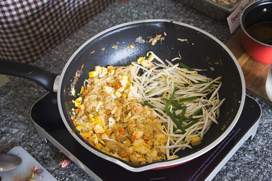 Pad-Thai-Rezept-Bambussprossen-Lauch