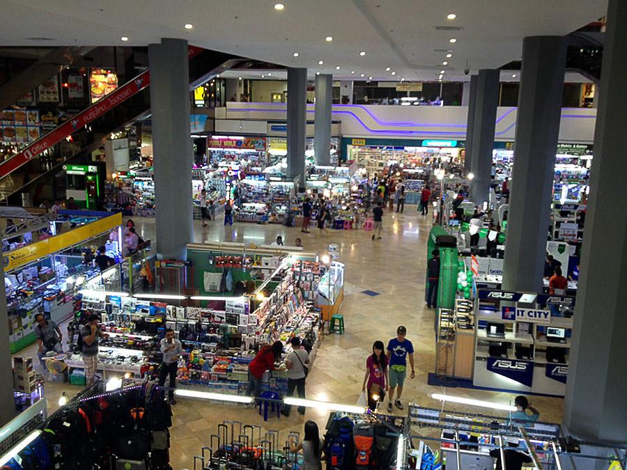 Pantip Plaza: Ein riesiger Spielplatz für Technik-Fans