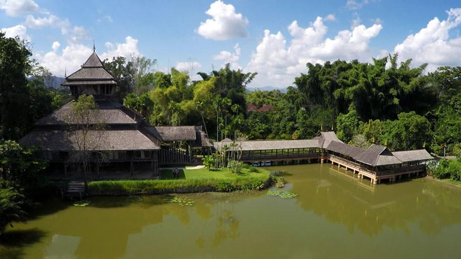Rai Mae Fah Luang Kunst Kultur Park in Chiang Rai