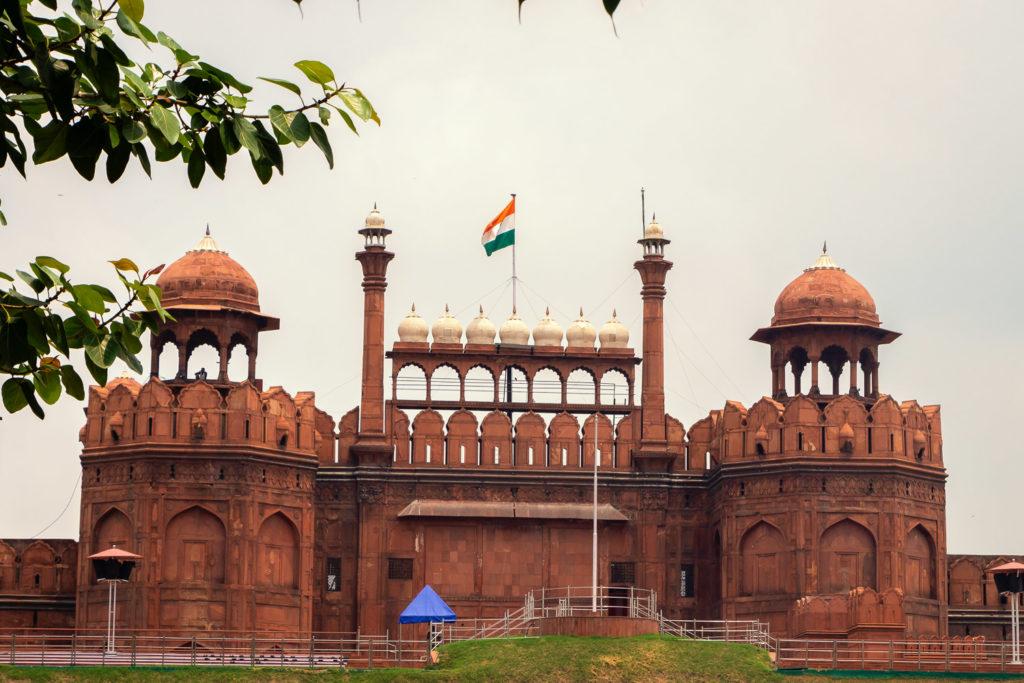 Das Rote Fort in Delhi, Indien