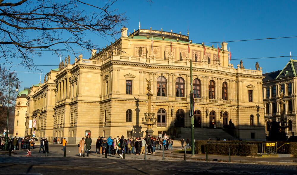Attraktion Rudolfinum in Prag
