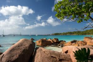 Perfekter Seychellen-Urlaub in der Bucht vom Anse Laszio