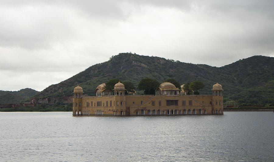 Wasserschloss Jal Mahal Jaipur
