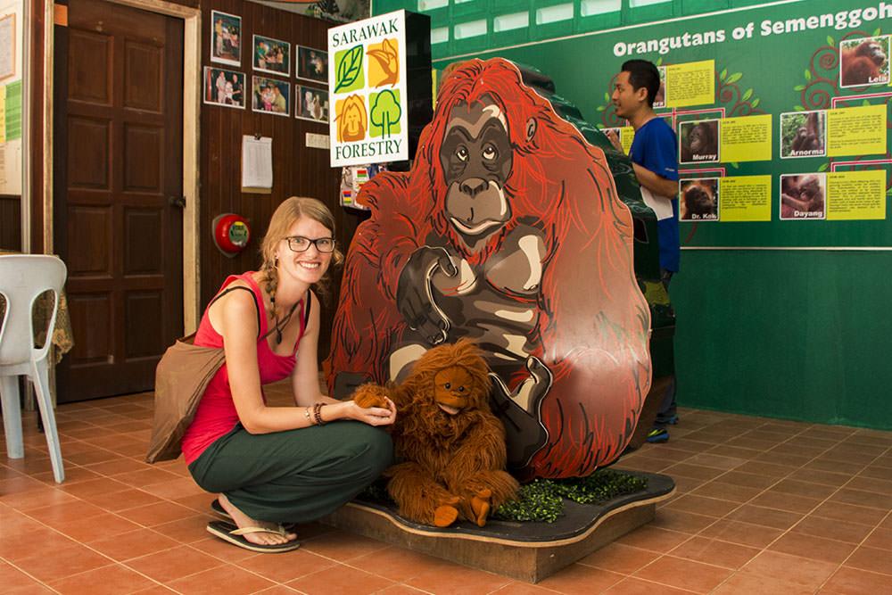 Semenggoh-Wildlife-Centre-Borneo-Kuching-Sarawak-Malaysia