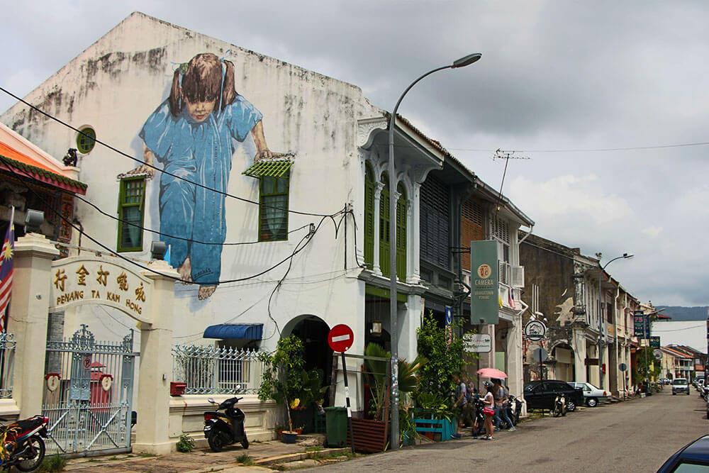 Streetart-Kungfu-Girl-Georgetown-Penang