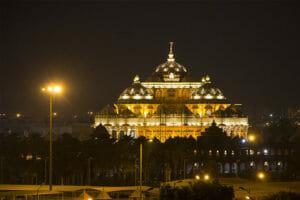 Swaminarayan-Akshardham-Tempel-Sehenswuerdigkeit-Delhi-Indien