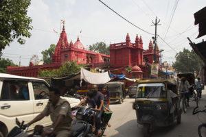 Tempel in Varanasi, Indien