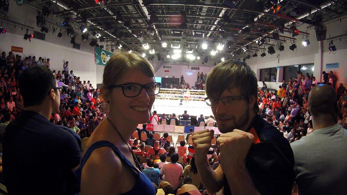 Thaiboxen im Channel 7 Bangkok mit freien Eintritt