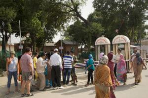 Touristen- und VIP-Eingang