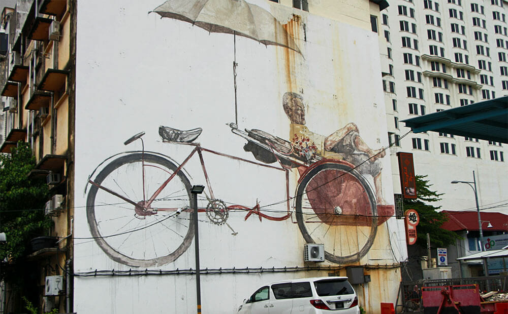 Trishaw-Man_Ernest-Zacharevic_Streetart-Georgetown-Penang