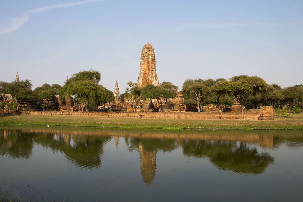 Wat Phra Ram-Ayutthaya-Thailand