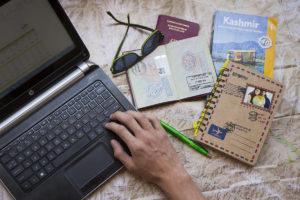 Weltreise-planen