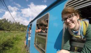 Zugfahrt von Haputale nach Ella