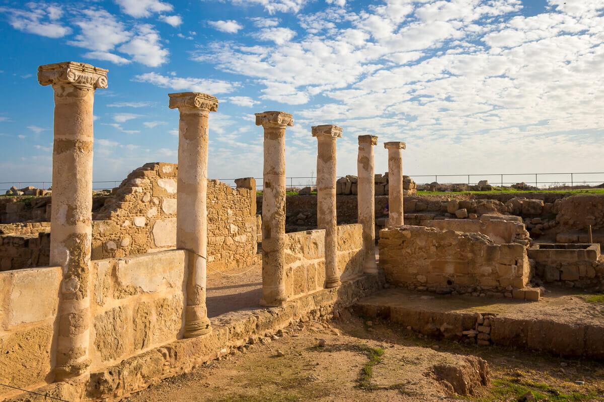 Haus des Theseus im Archäologischen Park Kato Pafos