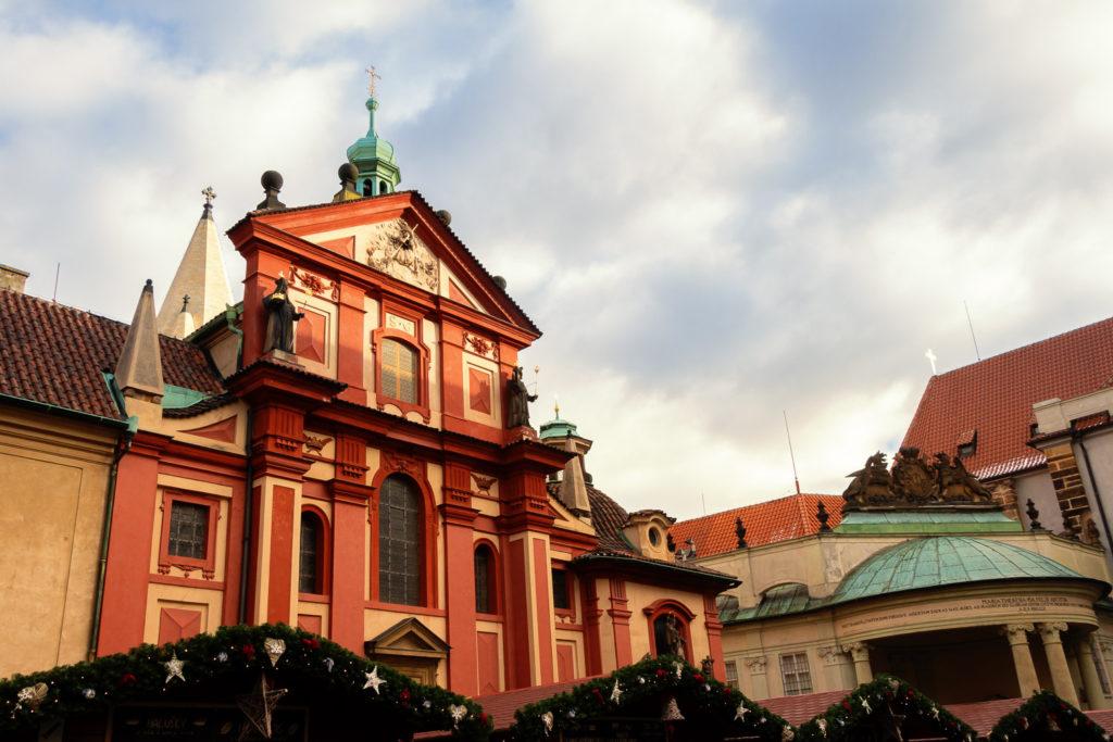 Basilika des Heiligen Georgs in der Prager Burg