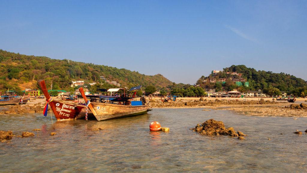 Ebbe am Strand der Loh Dalum Bay