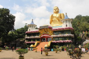 Der Goldene Tempel in Dambulla